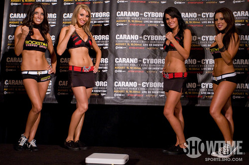 Strikeforce Girls