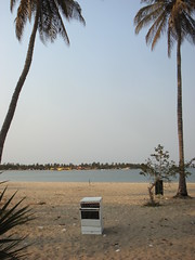 Oven on the beach