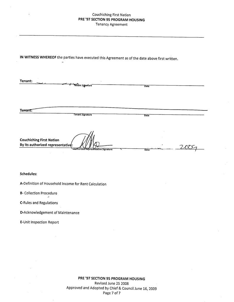 Tenancy Agreement 7 of 7