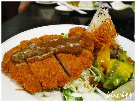 水舞饌(崇德店)-日式黃咖哩豬排