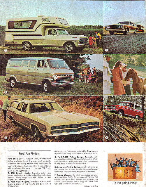 auto old classic cars ford hardtop 1969 car station club truck vintage magazine wagon torino cards flyer automobile post antique postcard country ad special advertisement vehicles card postcards vehicle bronco trucks autos collectible 69 collectors camper brochure ltd squire coupe automobiles wagons prestige f250
