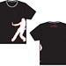 Chosen Dance Girls Black-White T-Shirt Front-Back.jpg