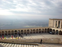 Landscape of Umbria (**soniatravel**) Tags: travel italy tourism nikon san italia place basilica coolpix piazza piazzale assisi umbria assis francesco s210