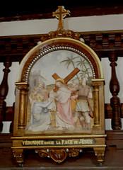 Ahetze (64), chemin de croix (Marie-Hélène Cingal) Tags: france southwest church iglesia 64 chiesa eliza église euskadi paysbasque kirsche sudouest aquitaine pyrénéesatlantiques chemindecroix ahetze labourd aheztar