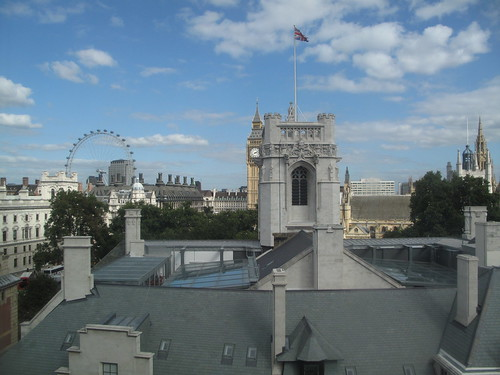 A view from the QEII conference centre