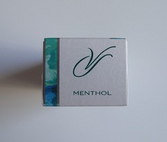 Pack top (Capri Superslims) Tags: virginia pack slims menthol virginiaslims superslims pursepack