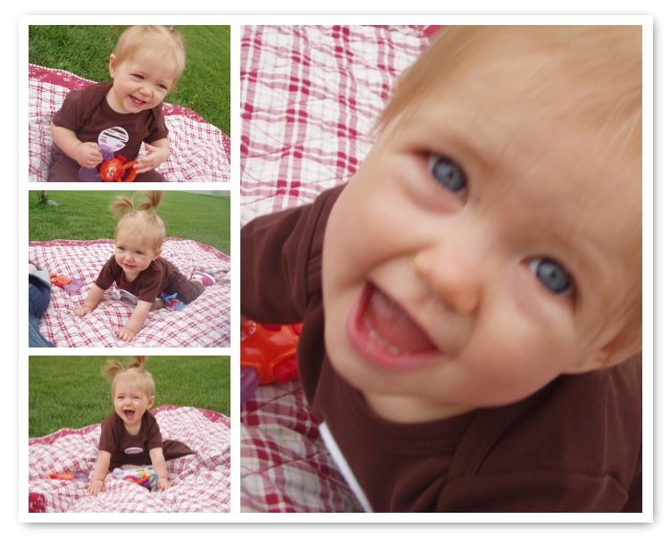 Evelyn 9 1/2 months