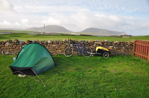 Camp at point of Ness