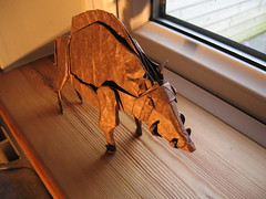 Inoshishigami (Divine Boar) (gj0kyz) Tags: satoshikamiya divineboar inoshishigami origamipig origamiboar