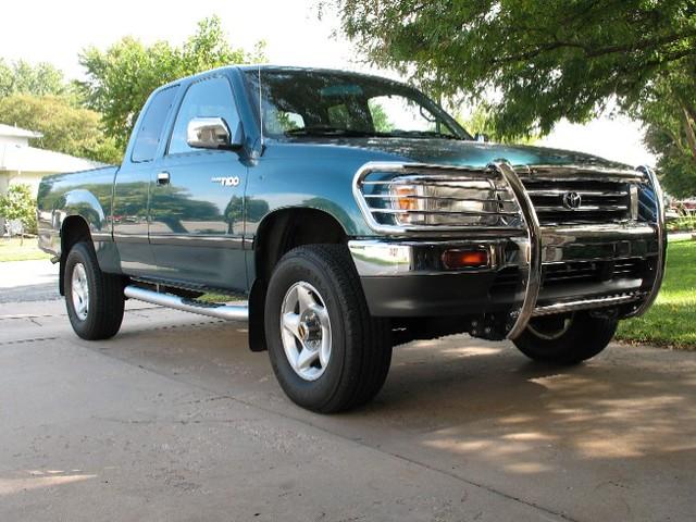 truck 4x4 pickup toyota t100