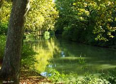 Calme sur le canal du midi (fabdebaz) Tags: eau paysage 31 distillery 2009 canaldumidi aficionados sudouest hautegaronne lauragais k10d pentaxk10d francelandscapes justpentax