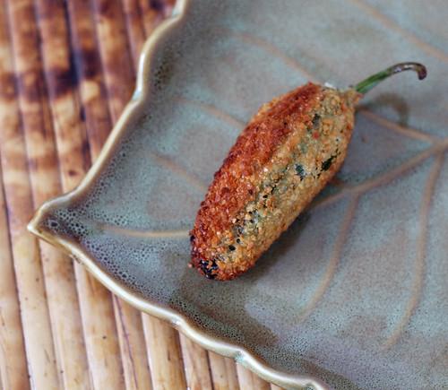 Smoked Gouda & Ham Jalapeño Poppers