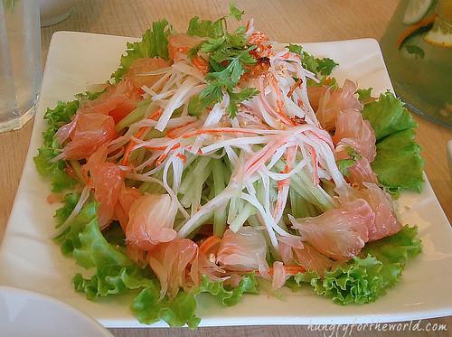 Pomelo Crab Stick Salad