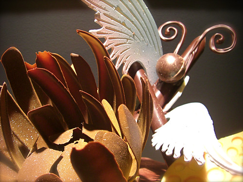 Abstract Chocolate Sculpture