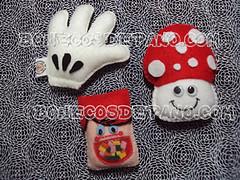 .:. Ims de Feltro .:. (Bonecos de Pano .Com) Tags: mushroom feltro cogumelo im luvinha mozinha ims luvadomickey minichicletes chicletesadans
