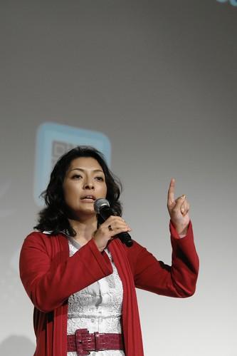 Ms Kazuyo Katsuma's speech about twitter.