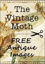 The Vintage Moth Link Badge