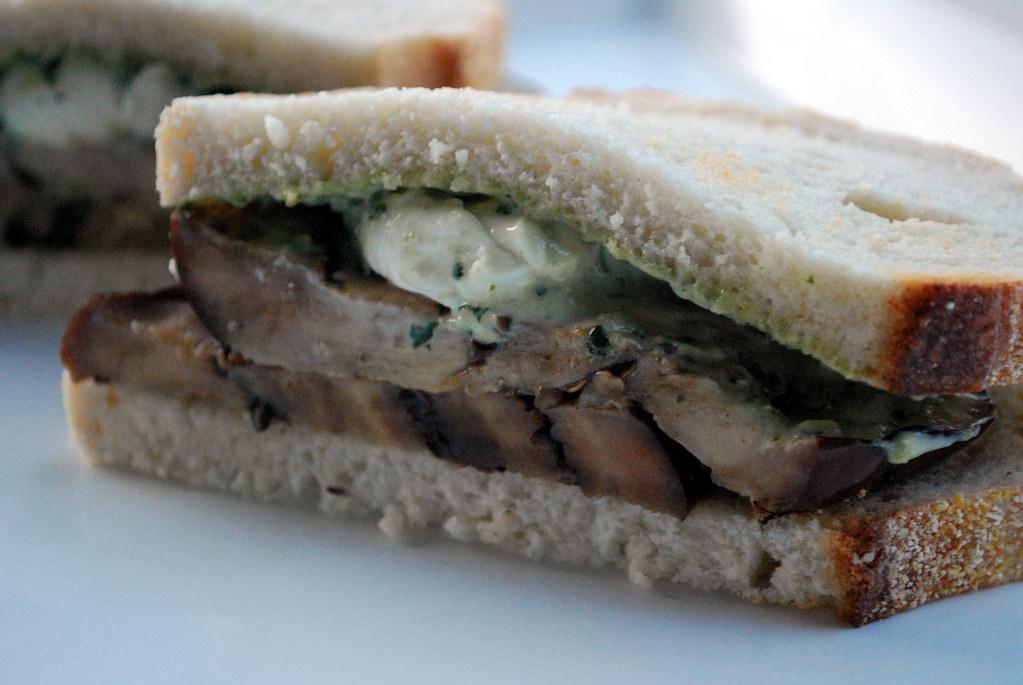 SE Grilled Eggplant Sandwich