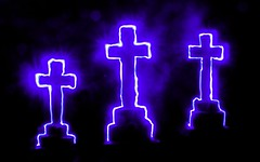 Crosses. (Mafia~Mum) Tags: nightphotography light movement neon paintingwithlight slowshutterspeed lightsabre