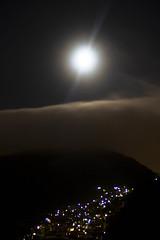 Lights I (Claudia Martini) Tags: cidade luz rio de janeiro corcovado lua favela madrugada luar donamarta claudiamartini
