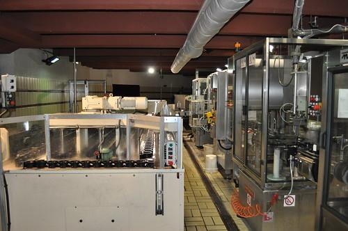 Máquinas de filtrado y envasado