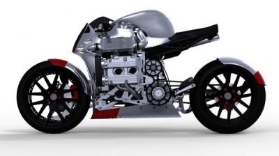 Subaru Kickboxer Concept Bike