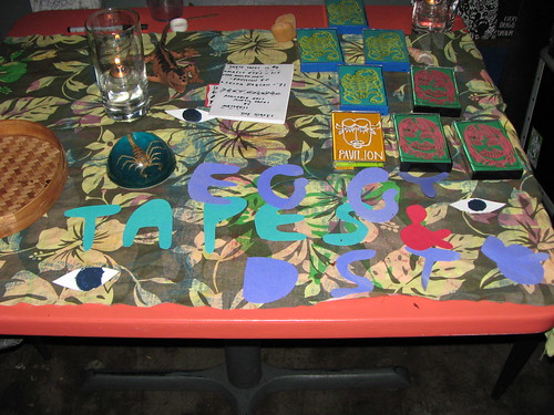 Eggy Records table