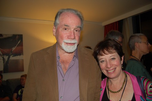 Robert Silverberg and Karen Haber, 2009. (Photo by Cat Sparx.)