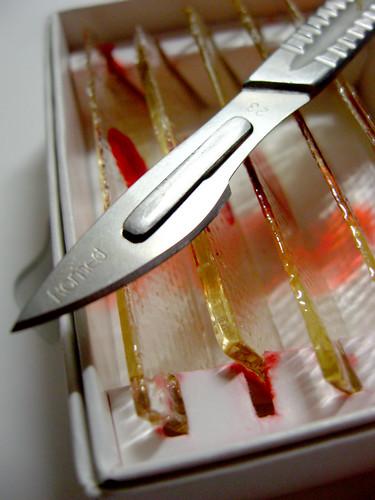 Biohazard Blood Slides – Опасные кровавые стёкла