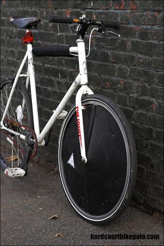 Chombo joust front wheel