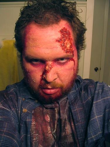 Halloween 2009 makeup