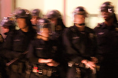 The Words We Won't Say (Thomas Hawk) Tags: california usa america oakland cops unitedstates unitedstatesofamerica police eastbay califorina oaklandpd opd oscargrant oaklandriot oaklandriot2009 oaklandriots2009 oscargrantriots oaklandriots