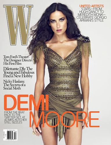 Demi Moore photo on W Magazine