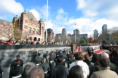 Remembrance Day (mtnbiker404) Tags: toronto war worldwarii queenspark remembranceday cenotaph veterans sacrifice veteransday oldcityhall ontarioparliamentbuilding