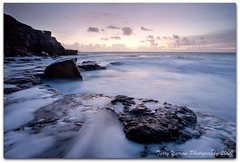 Winspit at Dawn (TDR Photographic) Tags: morning light sea sunrise dawn coast movement rocks surf waves dorset quarry daybreak winspit