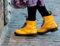 Yellow boots...........................EXPLORE NOV 17 2009 (grahamfkerr) Tags: life girls london punk camden goth streetphotography graham beautifulgirls kerr nosepiercing dms earpiercing doctormartins grahamkerr steampunks grahamfkerr steamgoths yellowdoctormartins grahamkerrphotographer