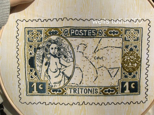 Tritonis: Commemorative Medusa Stamp