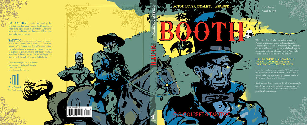 "Full Wrap-around Cover for BOOTH (who is hiding in that ""O"")"