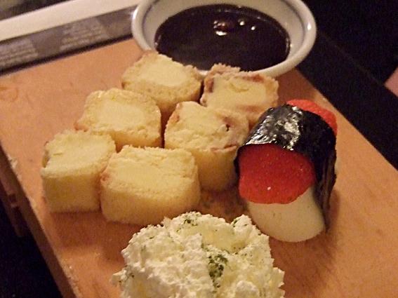 sushi icecream