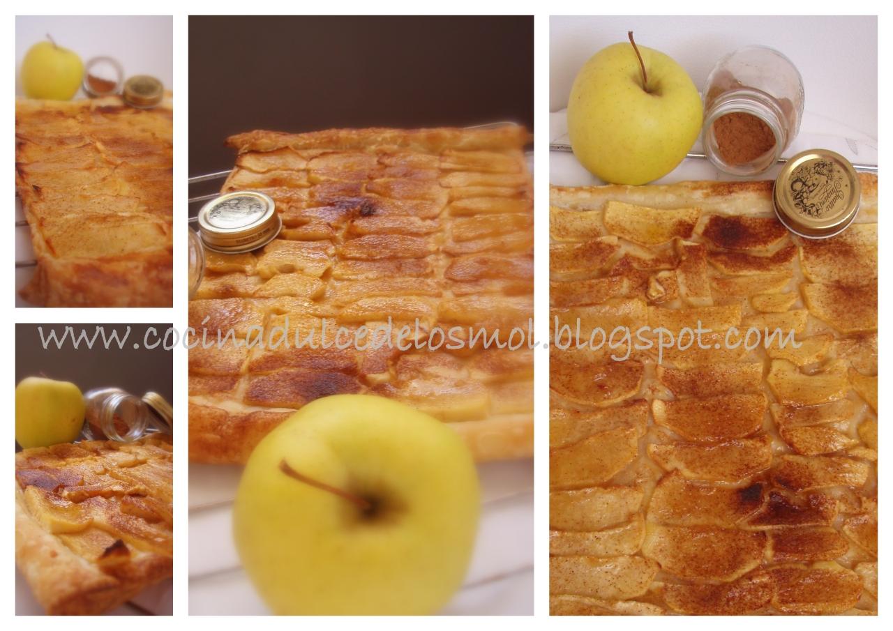 hojaldre de manzana y canela2 mol