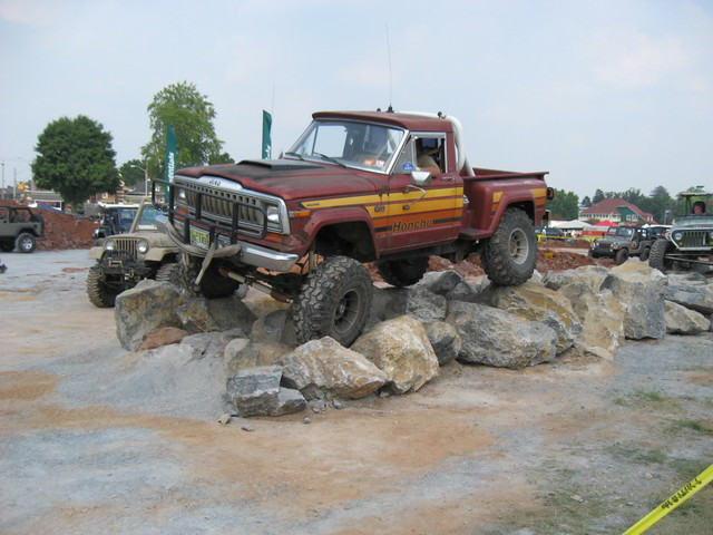 york truck rocks jeep offroad 4x4 4wd pickup amc 2008 honcho j10 jeepexperience sportside
