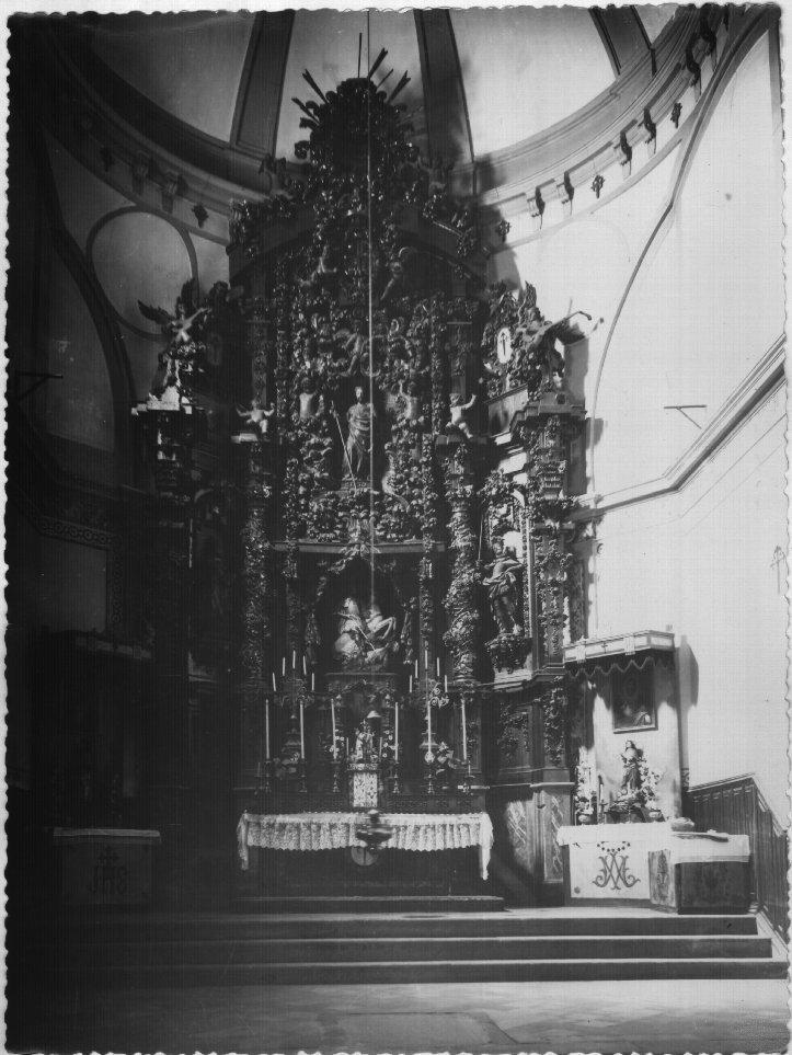 Convento de Santa Fe, retablo mayor