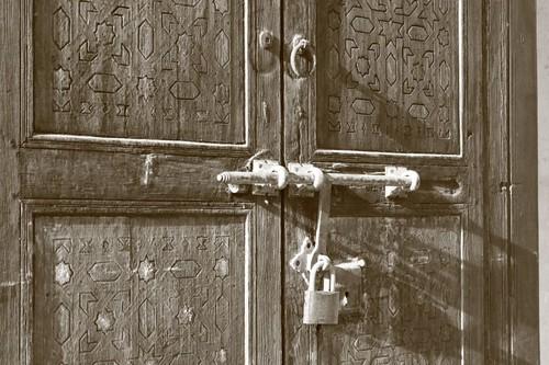 Kasbah door...