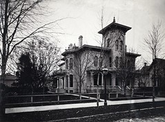 Henry S. Rickel (southofbloor) Tags: park house tower architecture lost detroit brush henry cupola villa adelaide belvedere mansion lantern destroyed turret demolished italianate rickel bracketed