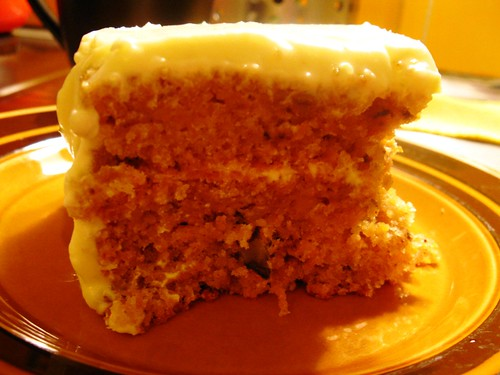 Carrot Cake (Western Style)