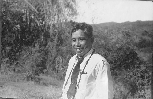 Florencio Tamesis, Head of the Philippiine Forestry Bureau