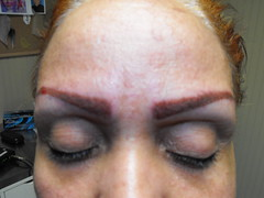 permanent make up (tiny palpitation) Tags: cosmetics permanent