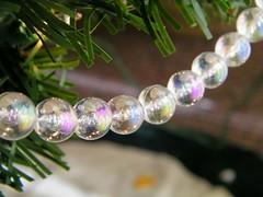 Bead Garland (rdm725) Tags: christmas decorations closeup beads shiny decoration christmastree garland bead sparkly 2009 christmas2009