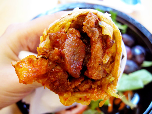 pork lettuce wrap @ woorijip