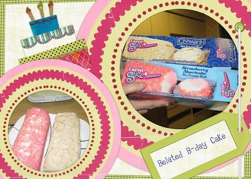 B-Day cake time